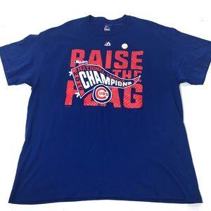 Men's Size XL Chicago Cubs XL League Champs Shirt